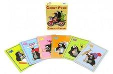 Akim Černý Petr Krtek společenská hra - karty v krabičce