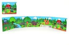 Teddies Knížka Leporelo Moje první zvířátka lesní 13,5x11x1,5cm od 24 měs MPZ