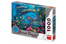 Dino Puzzle Mořský svět 12 skrytých detailů 1000 dílků 66x47cm