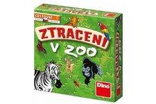 Dino Ztraceni v Zoo společenská cestovní hra v krabici 13x13x4cm