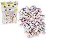 SMT Creatoys Korálky plastové abeceda 300ks 6mm v sáčku