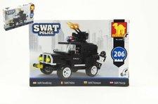 Dromader Stavebnice SWAT Policie Auto 206ks