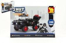 Dromader Stavebnice SWAT Policie Auto 288ks plast