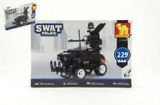 Dromader Stavebnice SWAT Policie Auto 229ks plast
