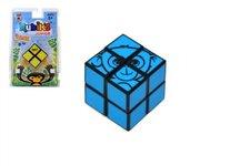 Teddies Rubikova kostka Junior 2x2 hlavolam plast na kartě 12x19cm