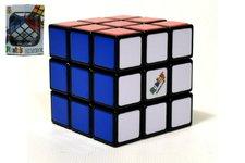 Teddies Rubikova kostka hlavolam plast 5x5x5cm v krabičce