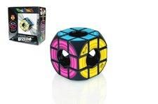 Teddies Rubikova kostka hlavolam Void plast 6x6x6cm volný střed v krabici
