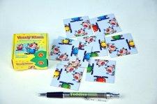 PEXI Hlavolam Puzzle Veselý klaun 9 kartiček v krabičce