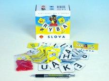 PEXI Slova didaktická společenská hra v krabičce 13,5x12,5x6cm