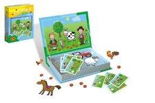 PEXI Magnetické příběhy Farma 24 dílků v krabici 19x26x4cm