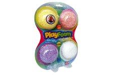 PEXI PlayFoam Modelína/Plastelína kuličková 4 barvy na kartě