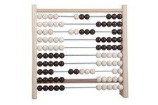 Detoa Počítadlo 100 kuliček dřevo/kov 24x23cm v sáčku