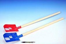 Lopata s násadou dřevo/kov 80cm asst 3 barvy nářadí