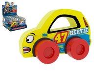 Millaminis Moje první závodní auto Bertie 47 žluté pěna 9x6cm na kartě 0+