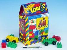 LORI Stavebnice LORI 2 plast 35ks v krabici 19x28x10cm