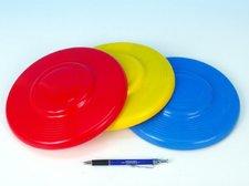 LORI Létající talíř plast průměr 23cm asst 3 barvy 12m+