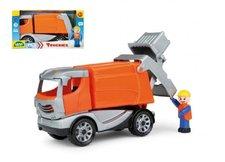 Lena Auto Truckies popeláři plast 25cm v krabici 24m+