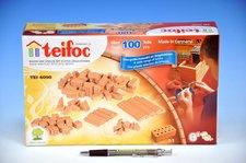 Směr Stavebnice Teifoc Cihličky 100ks v krabici 29x18x8cm