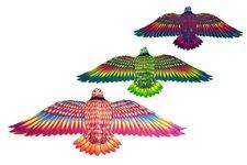 Wiky Drak létající Orel 132x59cm asst 3 barvy v sáčku