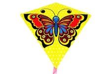 Wiky Drak létající motýl plast 68x73cm v sáčku