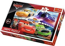 Puzzle 160 - Piston Cup / Auta 3
