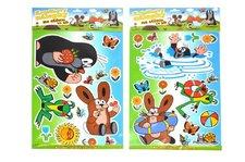 Wiky Dekorace Krtek nálepky na stěnu 3D 29x41cm 1list na kartě