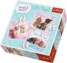 Puzzle 3v1 - Koťata