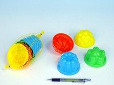 Formičky/Bábovky kulaté průměr 8cm 4ks v síťce