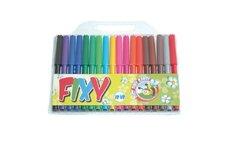 Wiky Fixy barevné 18ks v plastovém sáčku 20x18cm