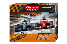 Conquest Autodráha Carrera GO!!! Fast start 7m + 2 formule v krabici