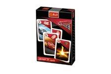 Trefl Černý Petr Auta 3/Cars Disney společenská hra v krabičce 6x9cm