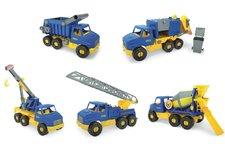 WADER Auto middle Truck plast 42-49cm asst 5 druhů Wader