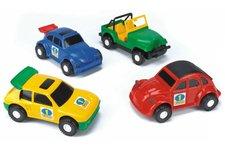 WADER Auto Color Cars plast 20-23cm asst Wader