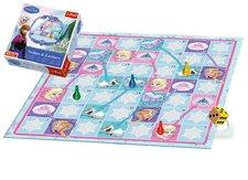 Trefl Hadi a žebříky Ledové království/Frozen společenská hra v krabici 28x28x6cm