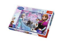 Trefl Puzzle Ledové království/Frozen 260 dílků 60x40cm v krabici