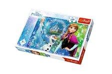 Trefl Puzzle Ledové království/Frozen 200 dílků 48x34cm v krabici 33x23x4cm