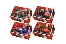 Trefl Minipuzzle Cars 2/Disney 54dílků asst 4 druhy v krabičce