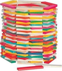 Woody Stavebnice přírodní barevná, Simona, 200ks
