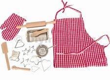 Woody - Pečící kuchyňská sada s tvořítky a zástěrou