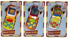 Huile Toys Dětský hudební telefon mix barev