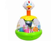 Huile Toys Zábavné kuřátko s míčky
