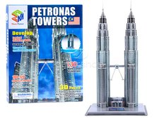 Dimix 3D Puzzle Petronas Twin Towers v Kuala Lumpur