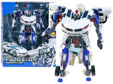 Transformer robot policie