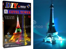 3D Svítící puzzle Eiffelova Věž