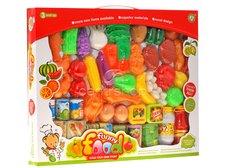 Potraviny do dětské kuchyňky 52ks