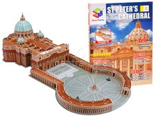 3D Puzzle Bazilika svatého Petra