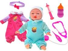 Interaktivní panenka a doktorský set