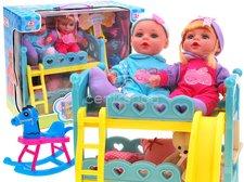 Patrová postýlka s panenkami