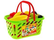 Nákupní košík ovoce 37ks plast