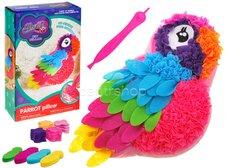 Polštář papoušek kreativní